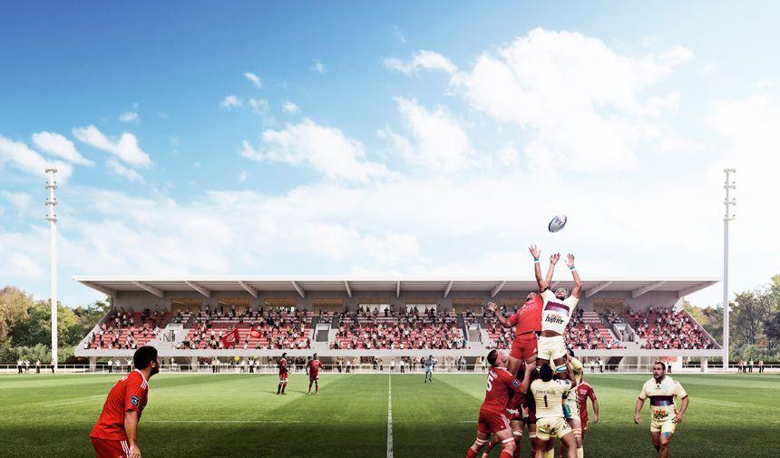 La tribune comprendra 2023 places assises