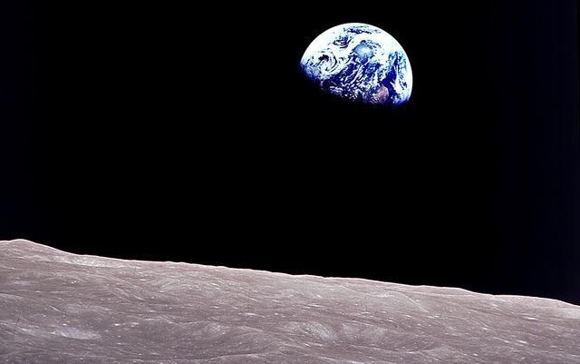 Lever de terre, pris depuis Apollo 8