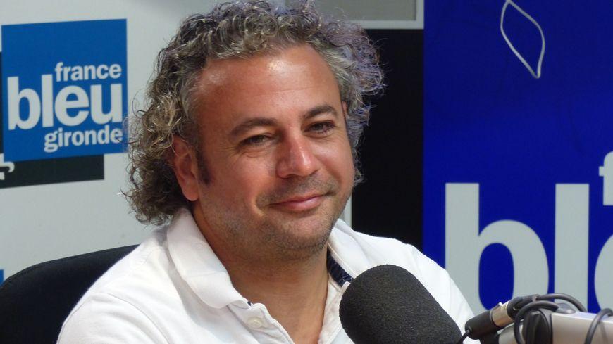 Thierry Parienty, le président des Boxers dans le studio de France Bleu Gironde