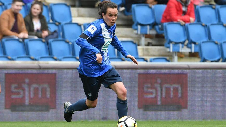 Marine Allez est l'un des piliers de l'équipe féminine du Havre AC