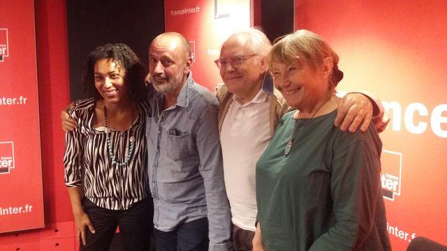 """""""Vous Les Femmes"""", de g. à d. : Estelle-Sarah Bulle, Daniel Morin, Albert Algoud, Catherine Sinet"""
