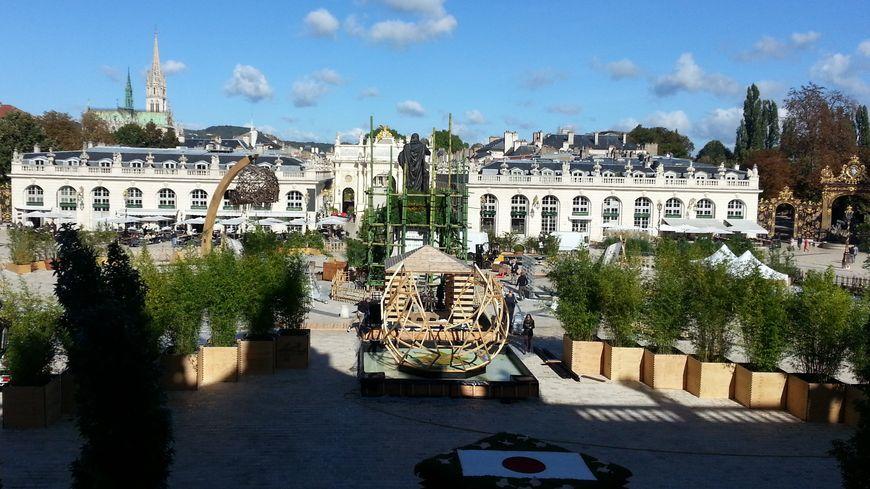 Cette année, le jardin éphémère ouvrira officiellement ses portes le 29 septembre sur la place Stanislas.