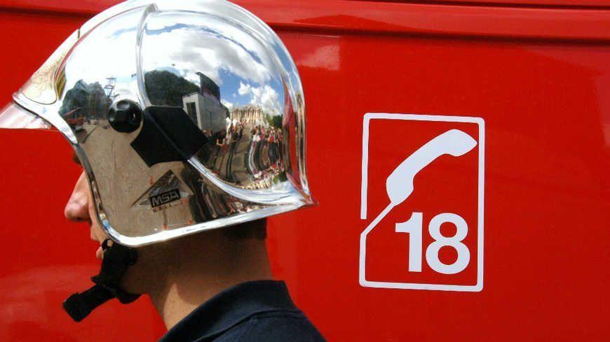 Les pompiers ont pris en charge le blessé (illustration)