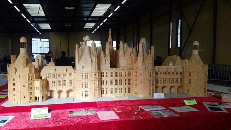 Bernard Peillon a mis 10 ans a réaliser cette maquette.