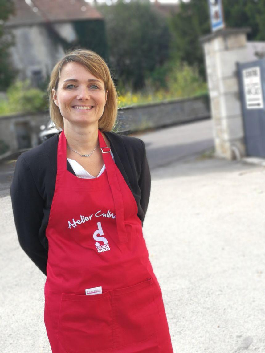 Nathalie Bligny, l'une des vendeuses à domicile