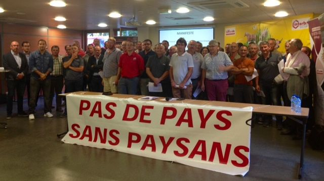 La chambre d'agriculture de la Loire a fêté la naissance d'un collectif qui défend tous les acteurs liés à la filière de la viande