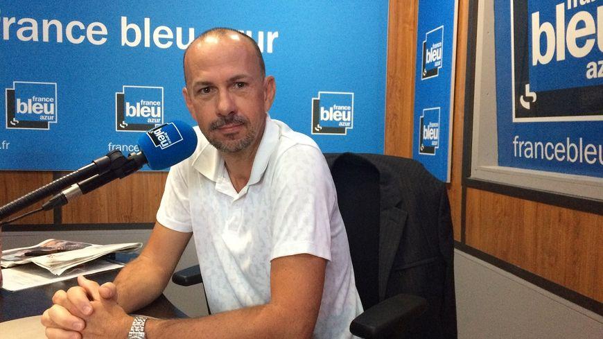 Olivier Boutin, président du club des entreprises de Villeneuve-Loubet, invité de France Bleu Azur