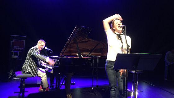 Mark Nadler au piano et Clémentine Decouture