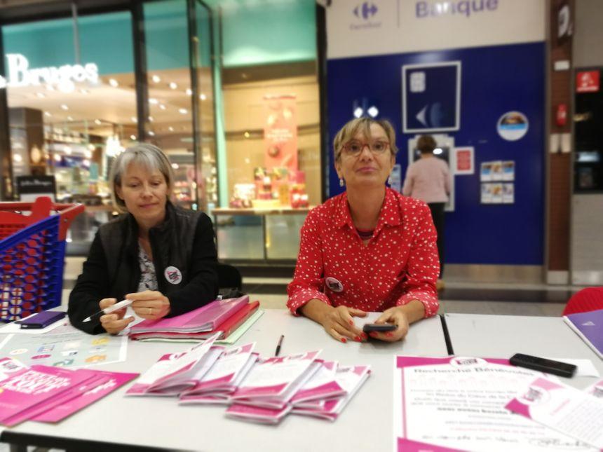 De cette campagne de recrutement à Quetigny on attendait une quinzaine de bénévoles en plus
