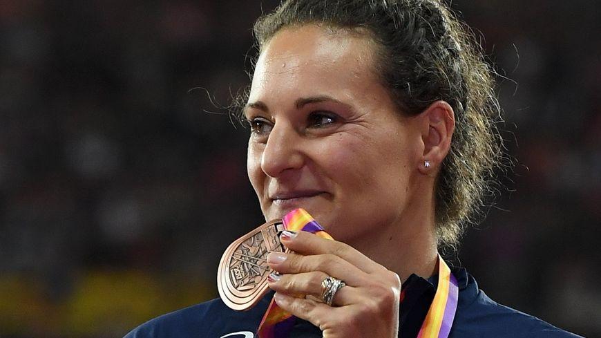 Mélina Robert Michon vice-championne olympique à Rio 2016 et médaillée de bronze aux championnats d'europe à Londres en 2017