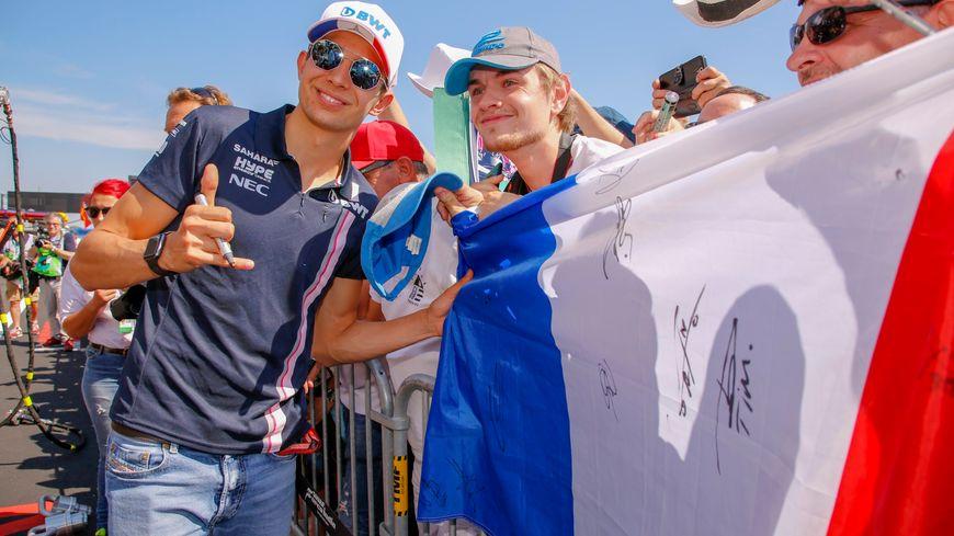 Esteban Ocon,  de plus en plus de supporters... eux-aussi inquiets face à sa possible absence en 2019