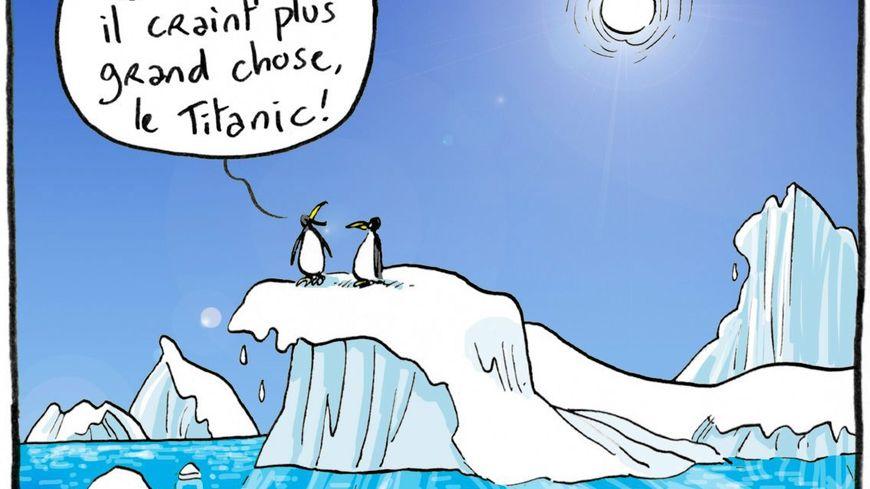 En 25 ans, l'Antarctique a perdu 3 000 milliards de tonnes de glace.