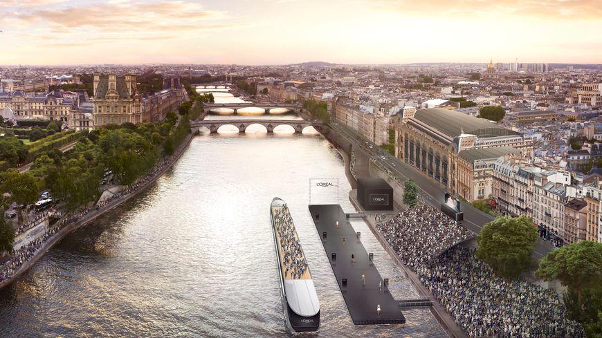 Le podium de 60 mètres longera le musée d'Orsay