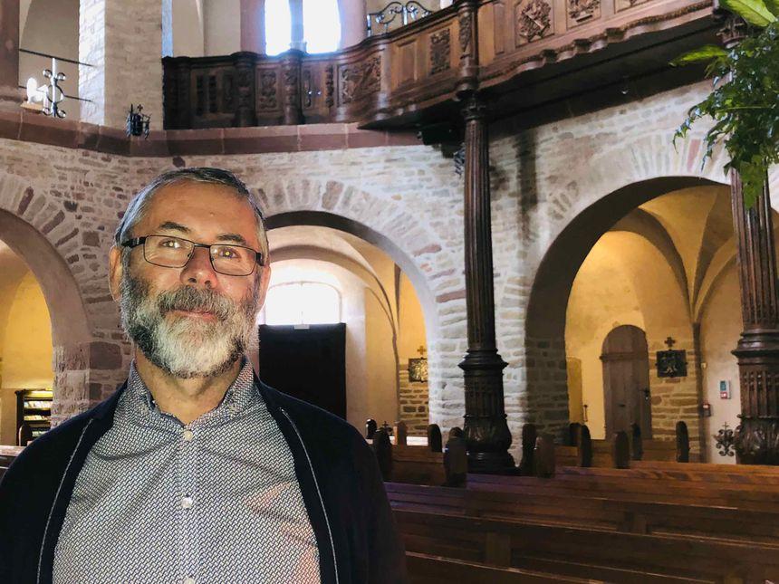 Ottmarsheim, Marc Weisser, association pour le rayonnement de l'abbatiale d'Ottmarsheim