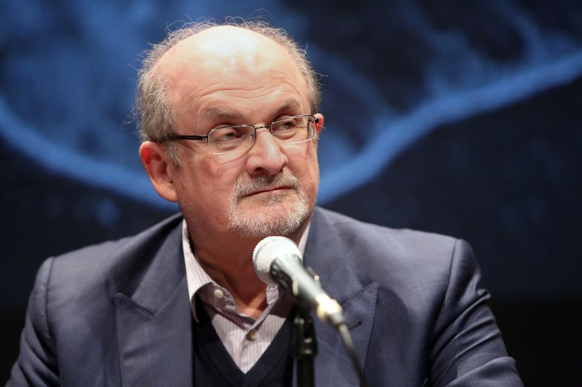 Salman Rushdie à Berlin en novembre 2015