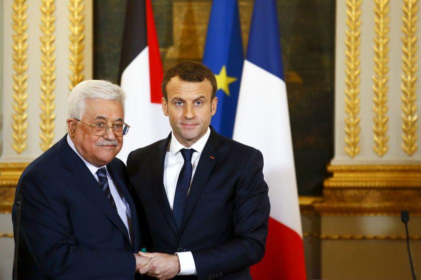Emmanuel Macron et Mahmoud Abbas se sont déjà rencontrés en décembre 2017