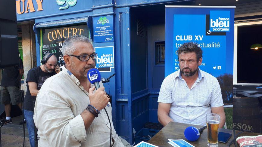 Christophe Urios a répondu aux questions de Julien Balidas dans Club XV