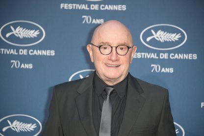 """Michel Blanc, acteur et réalisateur français, César du meilleur acteur dans un second rôle pour """"L'Exercice de l'Etat"""" en 2012, aux 70 ans du Festival de Cannes en 2016"""