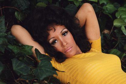 L'actrice et chanteuse américaine Freda Payne, vers 1970