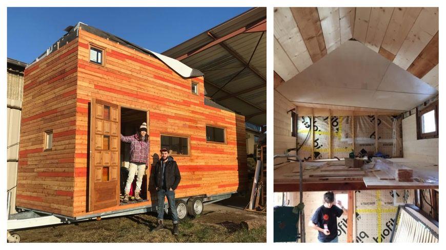 Ulysse et Aude, un couple strasbourgeois a construit une micro-maison et cherche un terrain pour s'installer