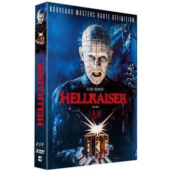Coffret DVD Hellraiser de Clive Barker