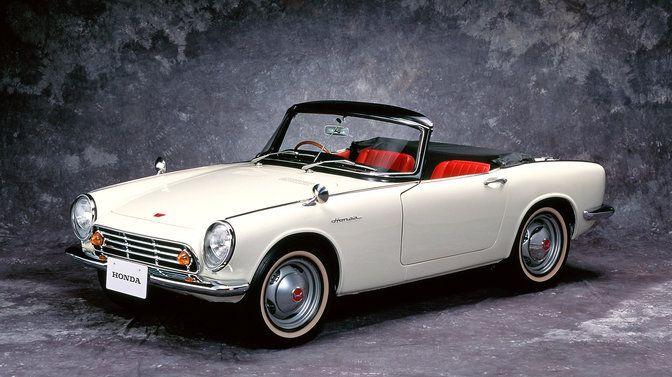 La première voiture de Honda sortie en 1963