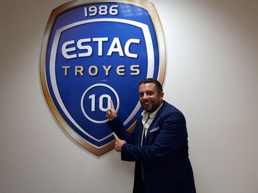 Grégory Régnier, le speaker de l'ESTAC Troyes