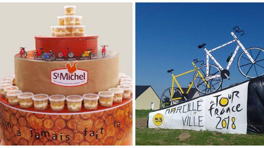 """Marcillé-la-Ville remporte le Grand Prix Saint-Michel des """"Communes Gourmandes"""" organisé lors du Tour de France 2018"""