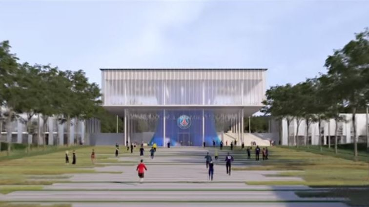 Le coeur du futur centre d'entraînement du PSG.