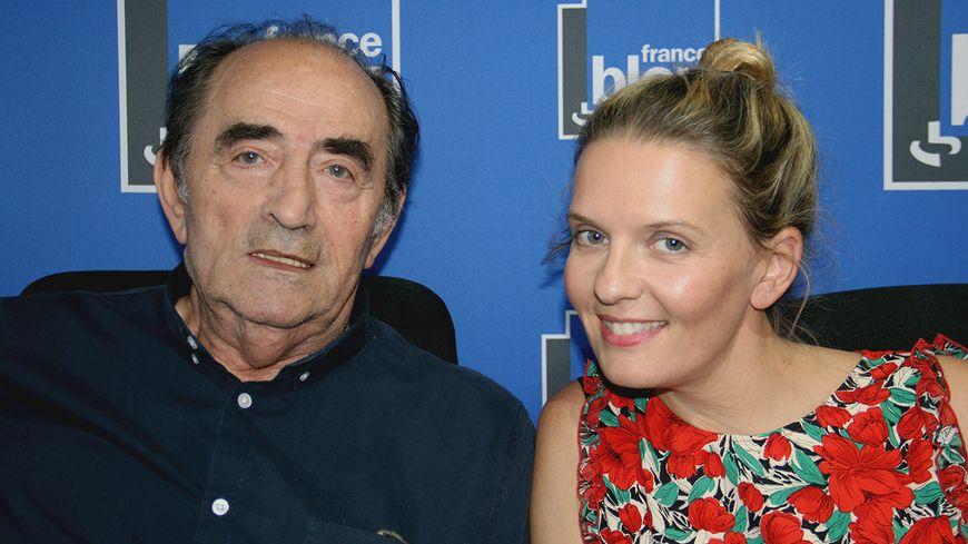Richard Bohringer et Déborah Grunwald