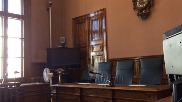 La salle d'audience du tribunal de Bergerac