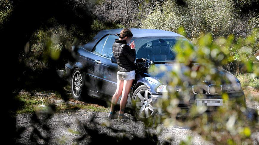 La prostitution est monnaie courante sur la D7 entre Luynes et Gardanne