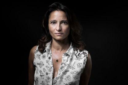 L'écrivaine, Nina Bouraoui à Paris le 19 août 2016.