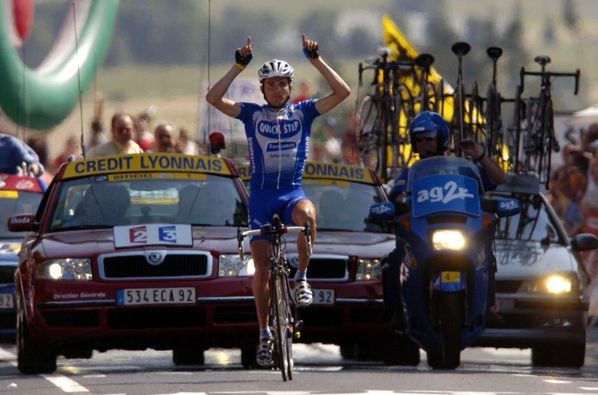 Trour de France : Saint-Flour théâtre de la dernière victoire d'étape de Richard Virenque en 2004