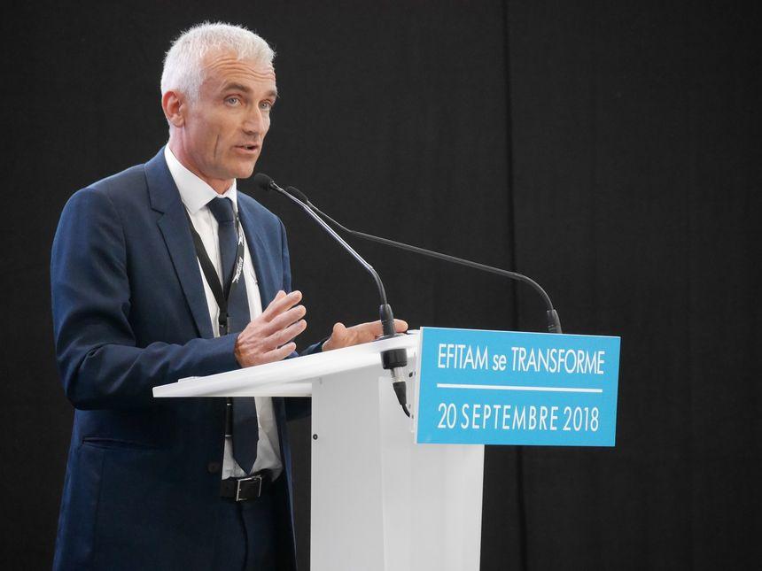 Frédéric Guimbal, le patron d'Efitam devenu FREGATE AERO