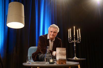 John Winslow Irving, romancier et scénariste américain, lors d'un festival de littérature en Norvège.