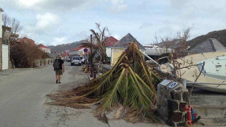 Saint-Barthélémy ravagé par l'ouragan Irma