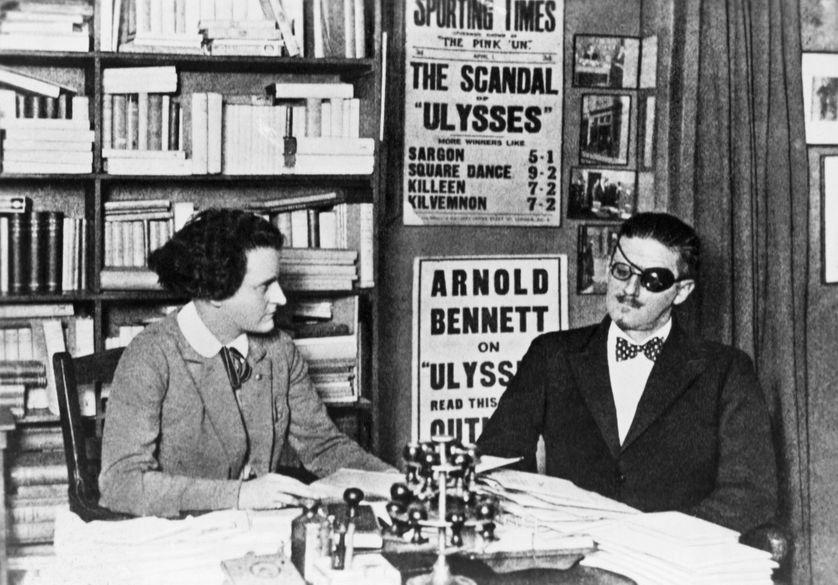 James Joyce et son éditrice