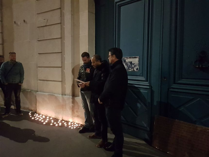 L'action devant la préfecture de Nancy ce mardi était symbolique