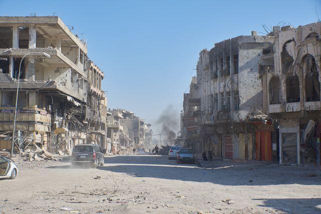 Vue de la ville de Mossoul Irak