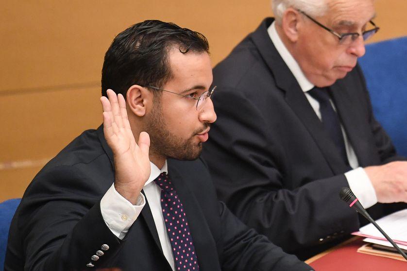 Alexandre Benalla devant la commission d'enquête sénatoriale