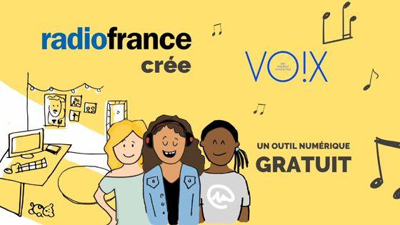 Vox, Ma chorale interactive, une plateforme numérique de Radio France