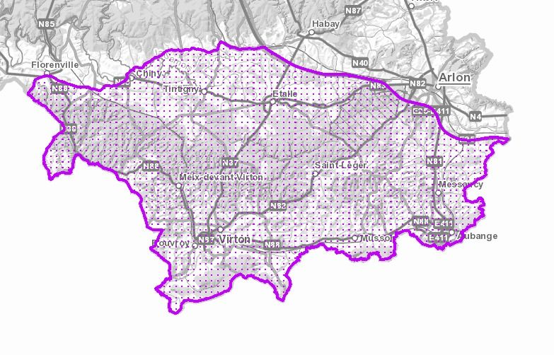 La zone belge infectée par la peste porcine africaine
