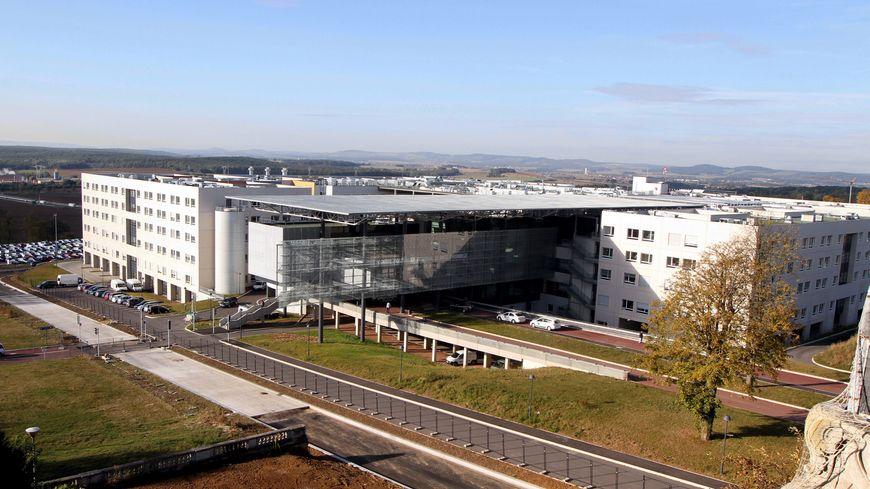 Le centre hospitalier régional de Metz Thionville à Mercy, au sud de Metz