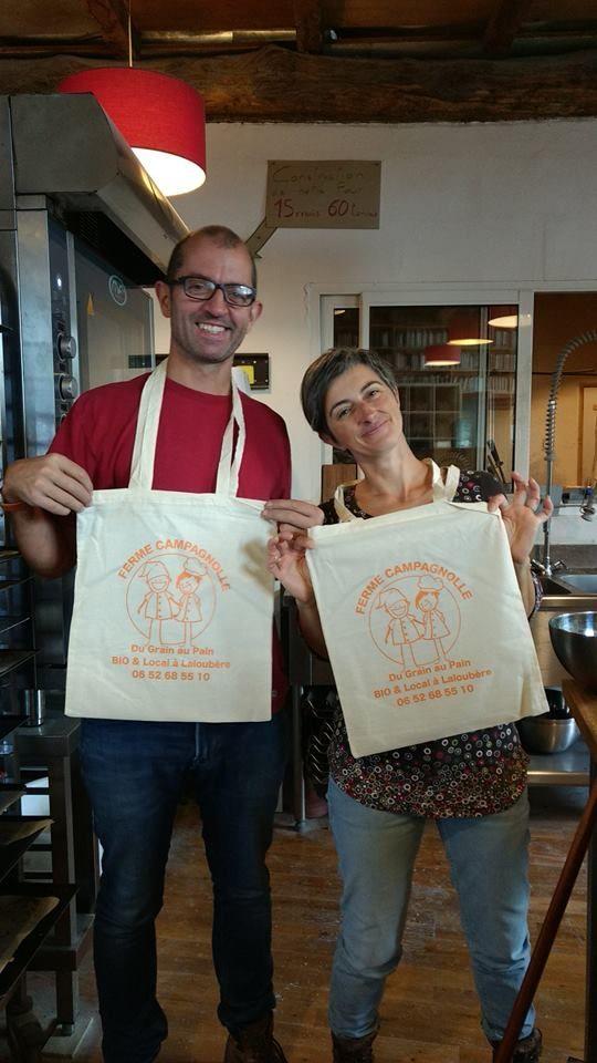 Christine et Denis Vignes nos paysans-boulangers bio