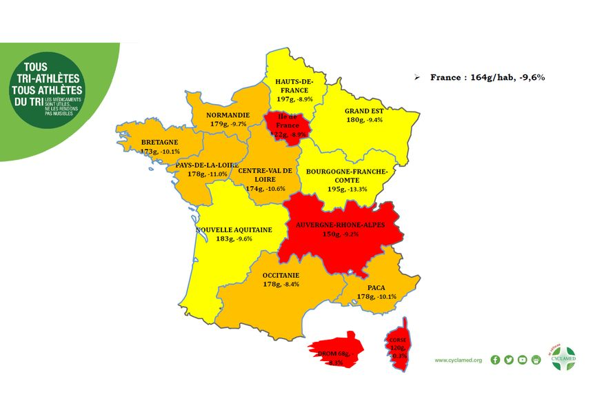 Recyclage de médicaments : la région Grand Est fait partie du TOP 5 français