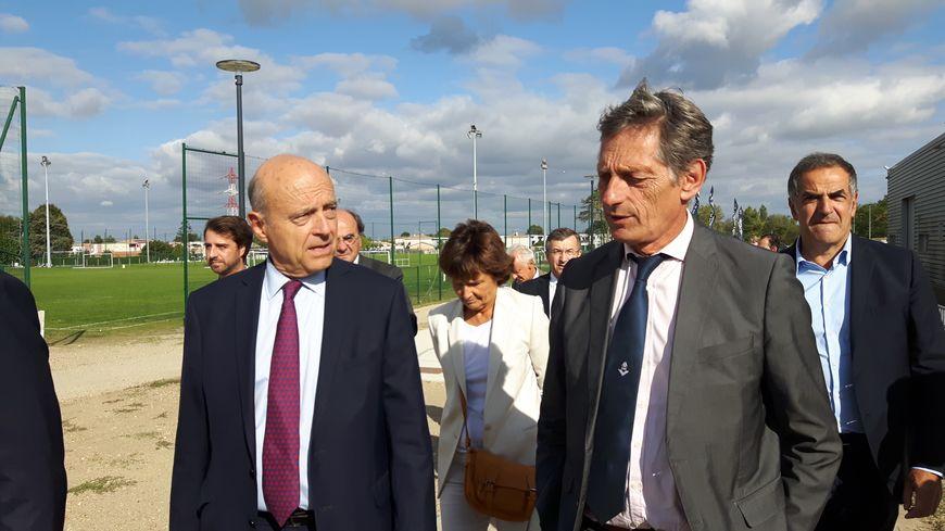 Alain Juppé et Nicolas De Tavernost