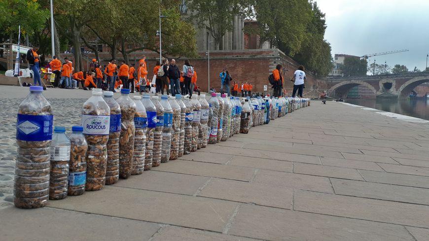 En deux heures, les bénévoles ont trouvé 99 750 mégots dans Toulouse