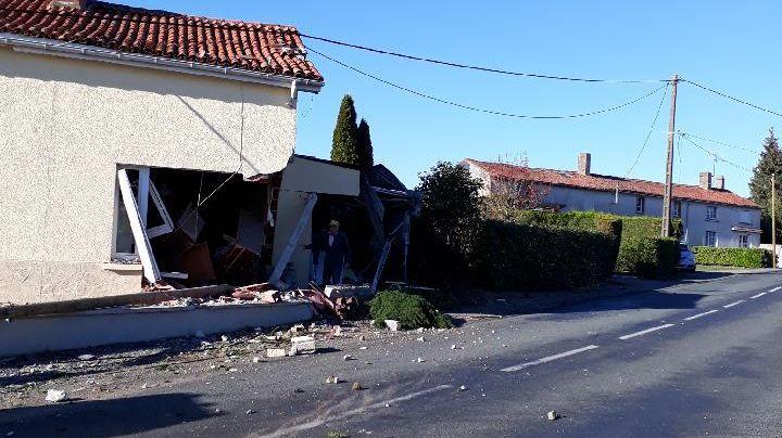 Les dégâts sur la maison sont importants