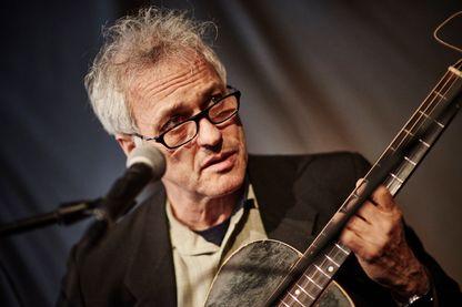 Portrait du musicien et compositeur américain Marc Ribot, photographié avant un concert au Café OTO à Londres le 11 mai 2017.